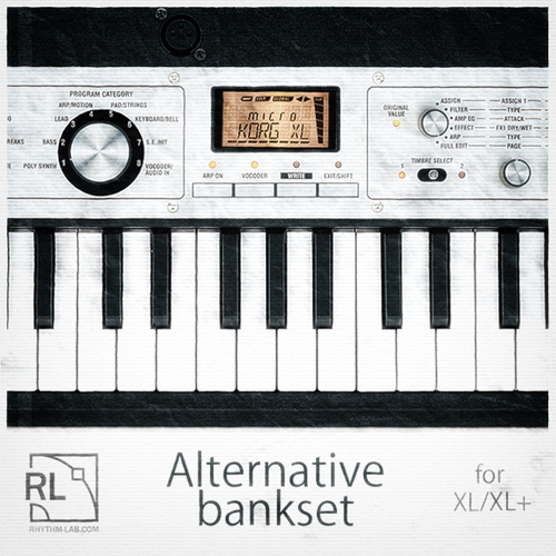 Microkorg XL / XL+ Alternative Bankset - Rhythm Lab | Free Wav