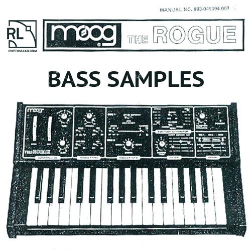Moog Rogue bass sounds - Rhythm Lab | Free Wav Samples